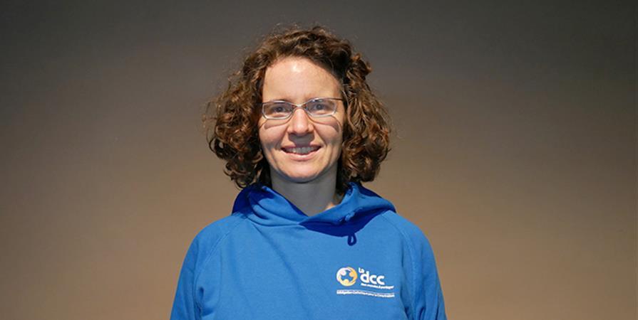 Yolande, responsable de service et professeur en RDC - Délégation Catholique pour la Coopération