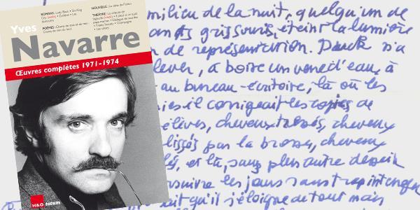 Œuvres complètes d'Yves Navarre : nous lançons le Tome 1 avec vous ! - Les amis d'Yves Navarre