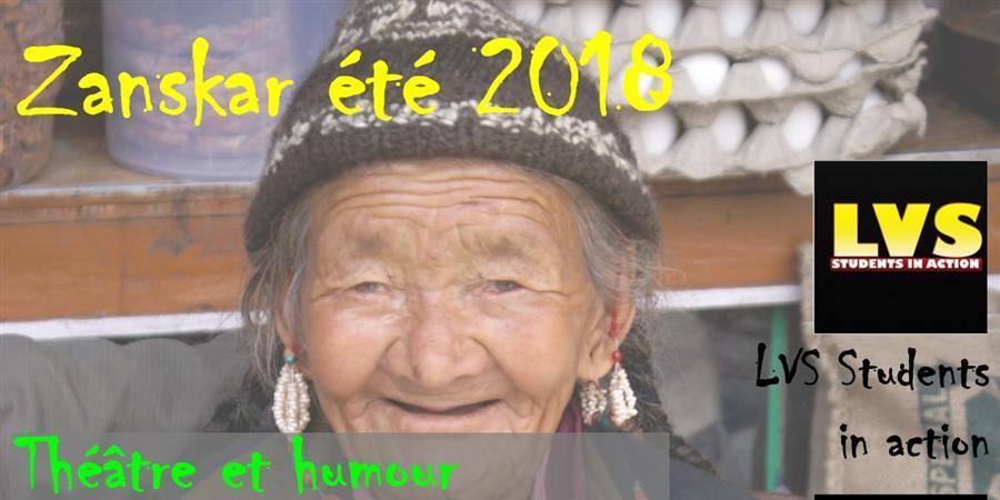 Zanskar2018: Théâtre/humour au service de l'hygiène, la santé et l'environnement - Alpes Himalaya