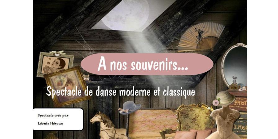 """spectacle de danse """" à nos souvenirs"""" - crea2danse"""