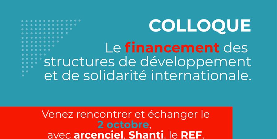 Le financement des structures de développement et de solidarité internationale - Arcenciel France