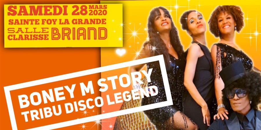 Boney M Story -Tribute Disco Legend - Les Récoltes de l'Espoir