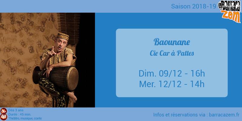 Dimanche - Baounane - Cie Car à Pattes - Brasil Afro Funk