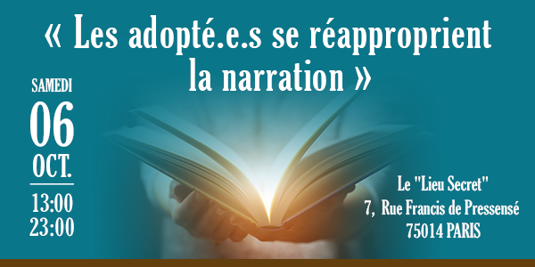 """"""" Les adopté.e.s se réapproprient la narration """" - La Voix des Adoptés"""