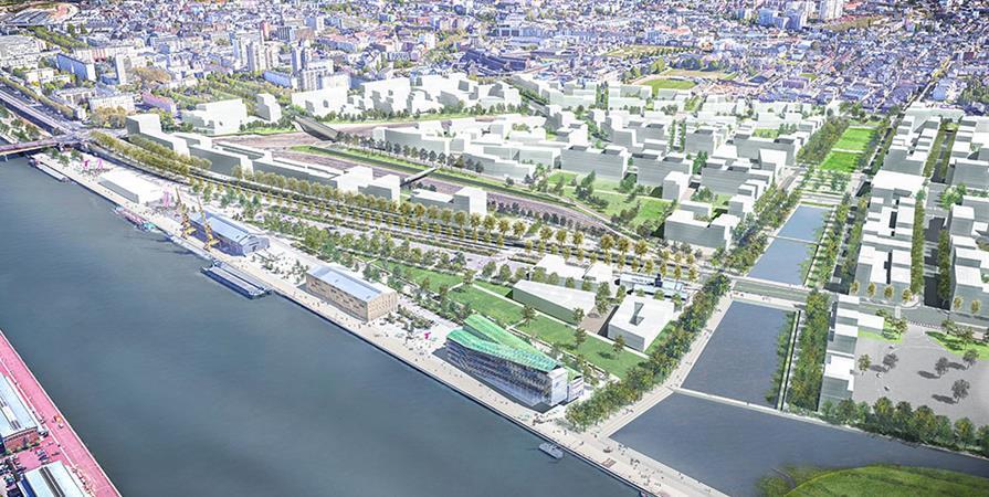 COMPLET / Rencontre - Rouen Flaubert, nouveau point d'étape  - Maison de l'architecture de Normandie - le Forum