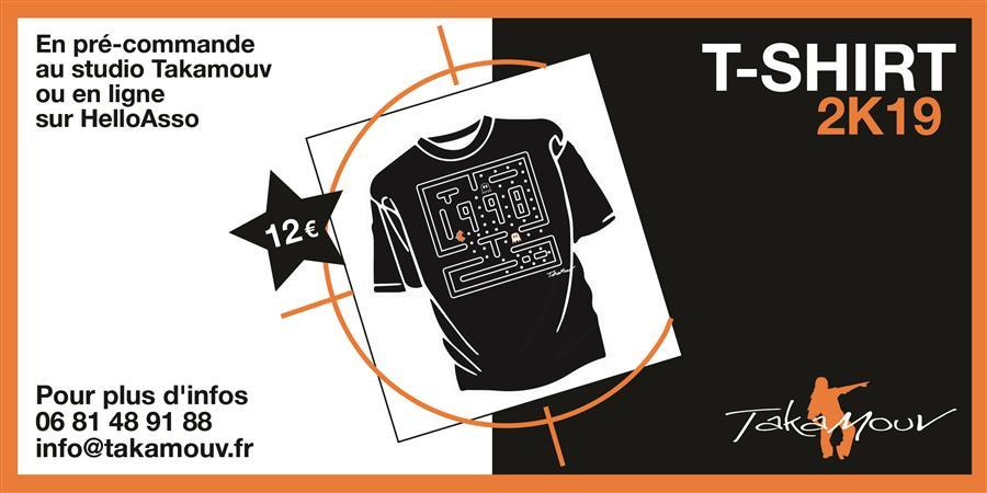 Pre commande t-shirt  - Takamouv