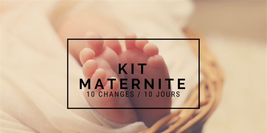 "kit ""Maternité"" - Les alternatives de Lilly"