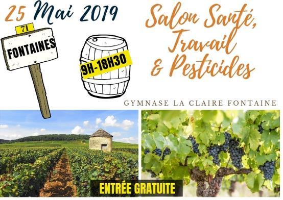 Salon Santé, Travail & Pesticides - Phyto-Victimes