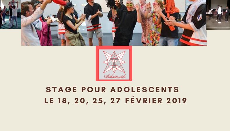 STAGE THÉÂTRE D'IMPROVISATION Les Lundis et Mercredis - Les Menuts des Arts