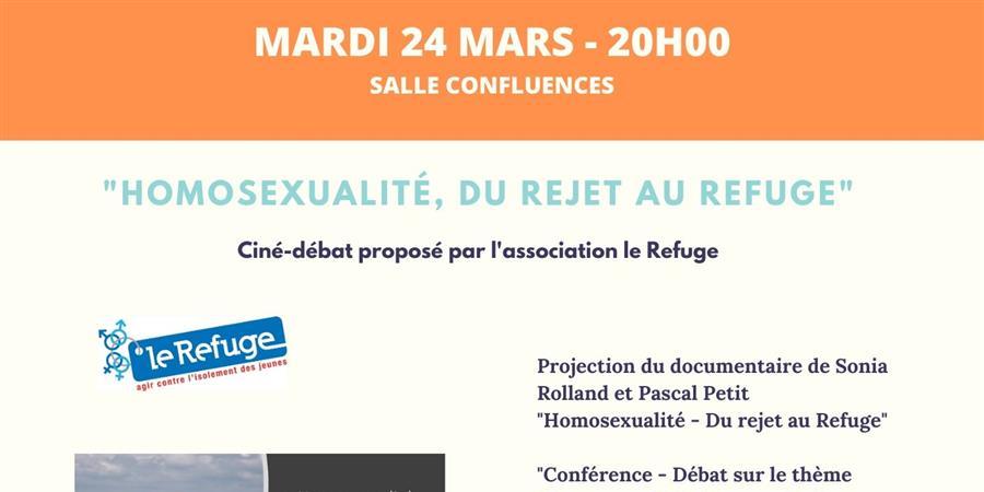 """""""Homosexualité, du rejet au Refuge"""" - Le Quart'Ney"""
