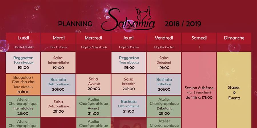Abonnements annuels Salsamia  - Salsamia