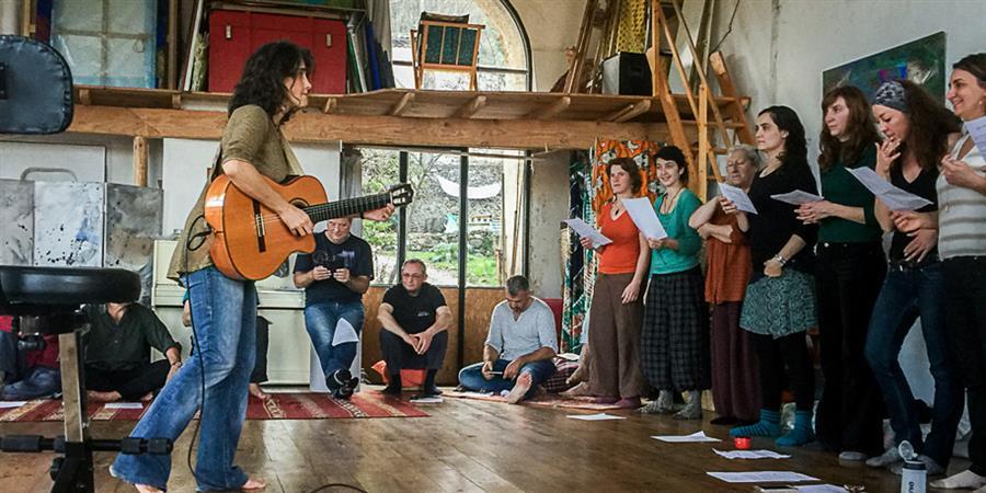 Stage de Chant avec Marianne - Corail