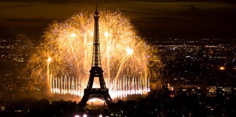 Feu d'artifice - 14 juillet 2019 - Les Amis de Laënnec