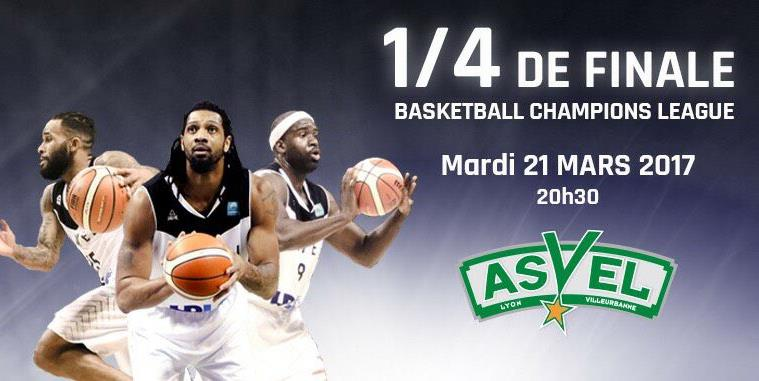 1/4 Finale Basket avec l'ASVEL - International Student Lyon