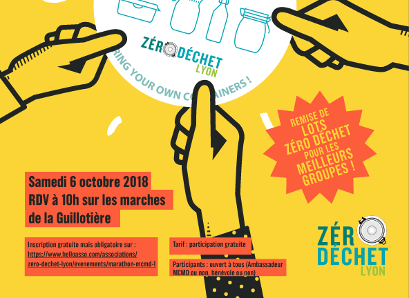Marathon MCMD - Zéro Déchet Lyon