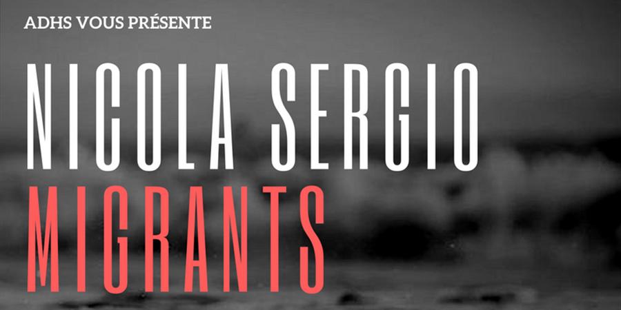 Concert Nicola Sergio x ADHS - Association des droits de l'Homme de la Sorbonne