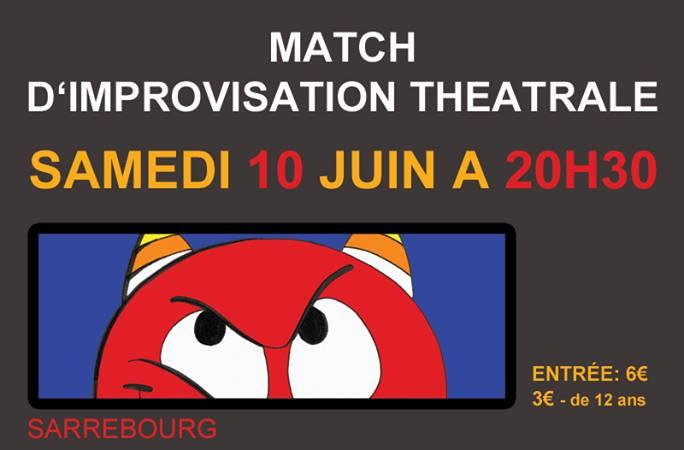 Match d'impro Minou-Sadic - SADIC