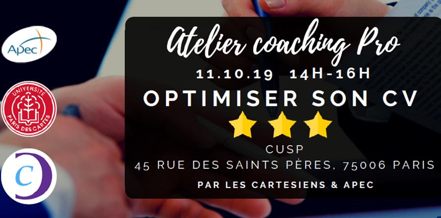 Ateliers Coaching pro - Les Cartésiens