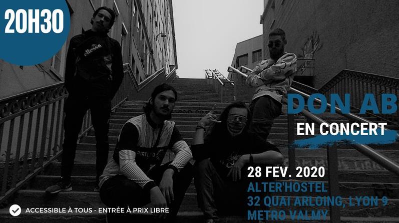 Concert | DON AB - Auberge Participative