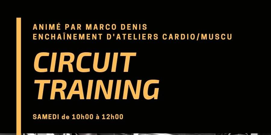 Samedi 5 octobre Cicruit Training 9h00/10h30 - Boxer Inside Club