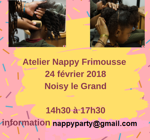 Atelier NAPPY FRIMOUSSE - NAPPY PARTY