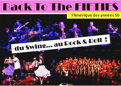 """Spectacle musical """"Back To The FIFTIES""""   ---   ATTENTION : à 17h en Heure d'ETE - Chorale de Gières Clap Yo' Hands"""
