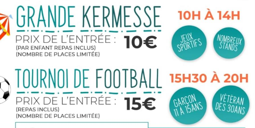 GRANDE KERMESSE ET TOURNOI DE FOOTBALL - Collectif Effica-Cité