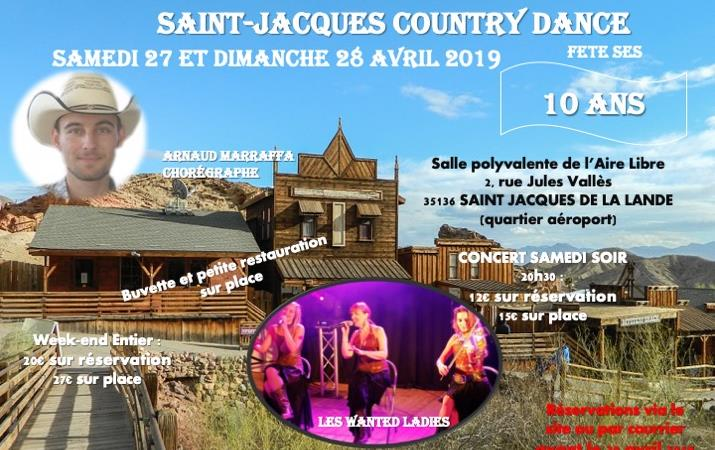 SAINT JACQUES COUNTRY DANCE FETE SES 10 ANS - SAINT-JACQUES COUNTRY DANCE