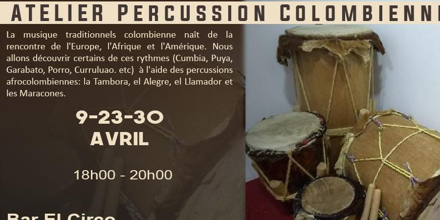 Percussion Colombienne - Guayabo Colectivo