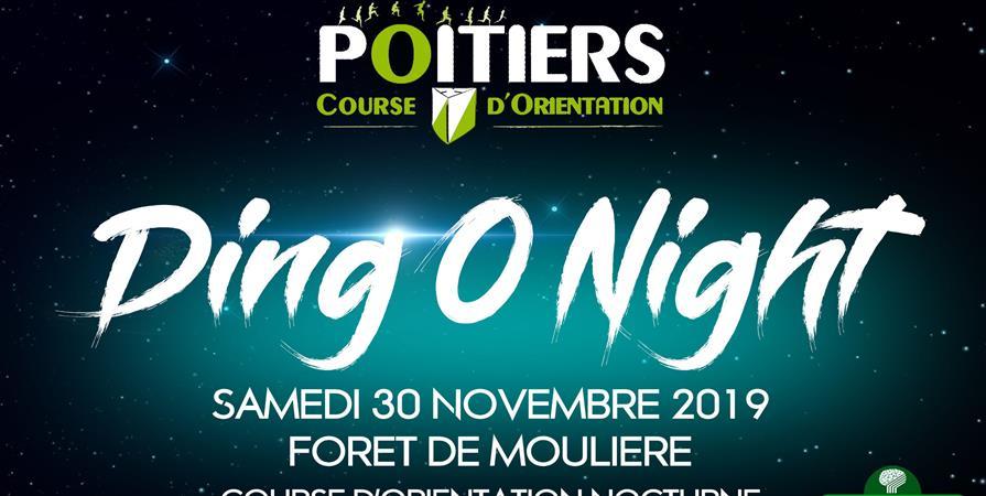 Ding'O Night - Course d'Orientation Nocturne Samedi 30/11/19 - Poitiers CO