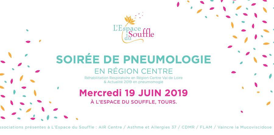 Soirée de pneumologie tourangelle - L'Espace du Souffle