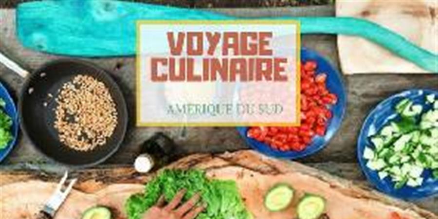 Atelier Voyage Culinaire : Amérique du Sud - A la Poignée de Mains