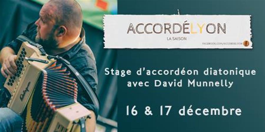 Stage accordéon avec David Munnelly - Bretelles du Monde