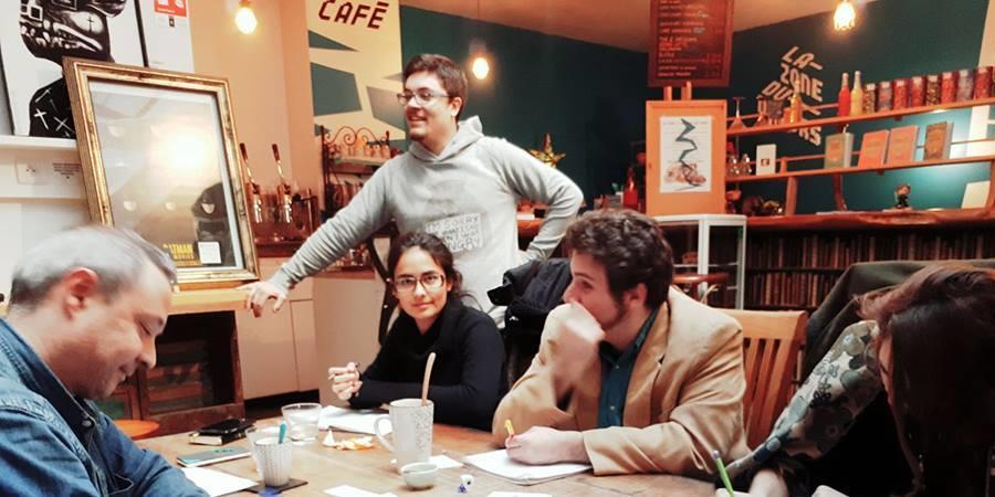 Les ateliers d'écriture de Code Chaplin  - Code Chaplin