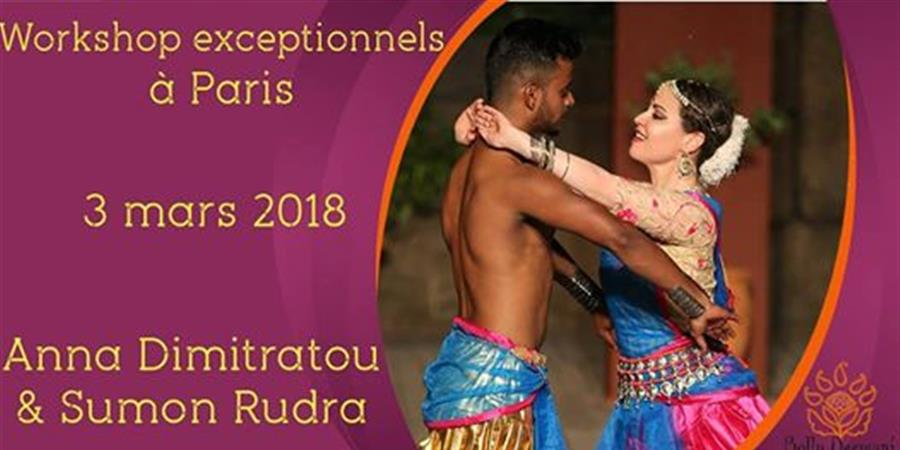 Stages exceptionnels avec Anna et Sumon le 03/03/18 - Bolly Deewani, danse Bollywood et Fitness Bollywood