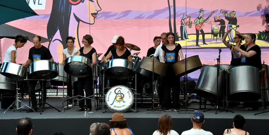 Another Steel Band Orchestra + Atelier - Association Cirque Autour