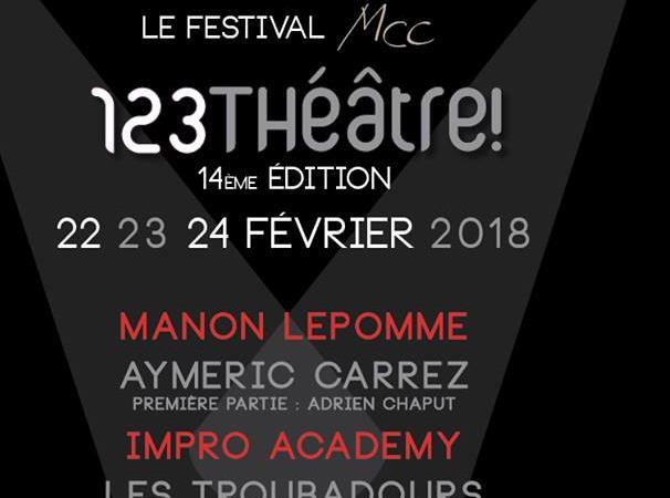 Festival 123Théâtre! 2018 - 123Théâtre!