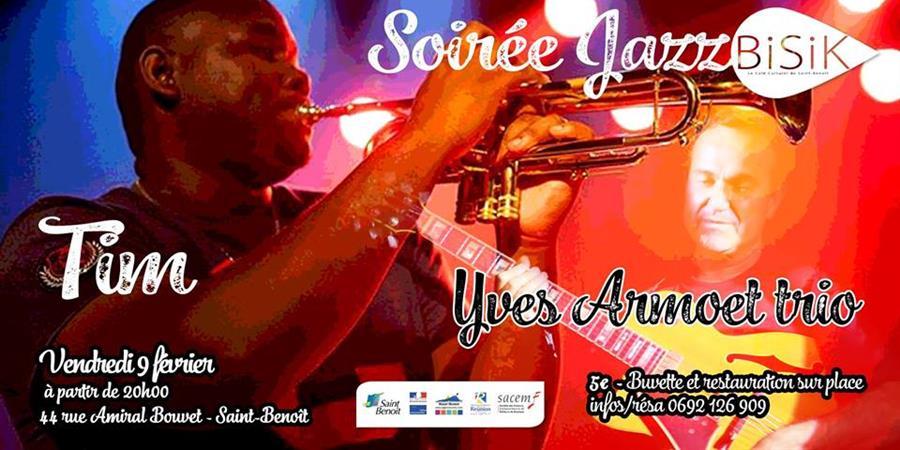 Jazz au Bisik : Tim + Yves Armoet Trio - ACTER