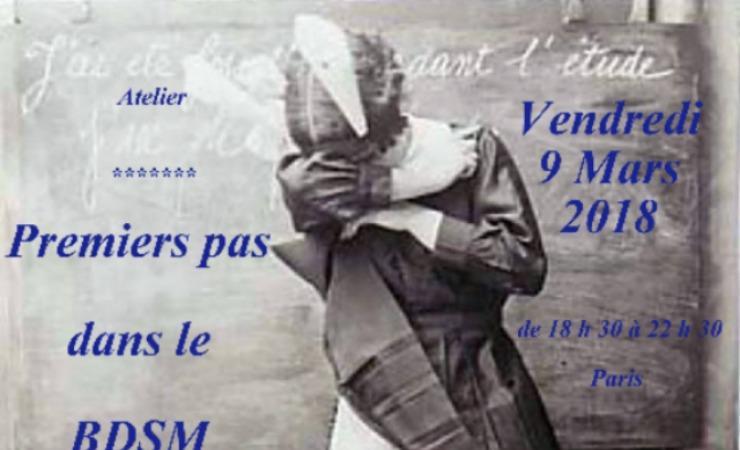 Vendredi 9 Mars 2018 – Atelier: Premiers pas dans le BDSM - Paris-m