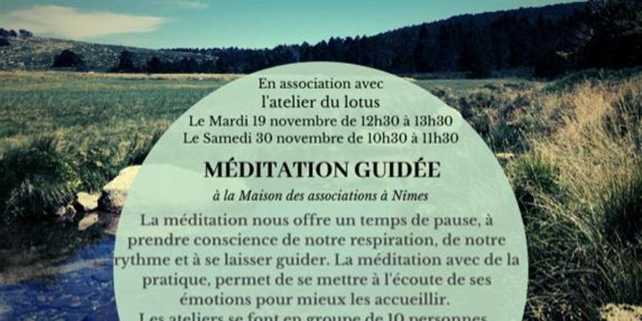 Méditation guidée 19/11/2019 - L'atelier du lotus