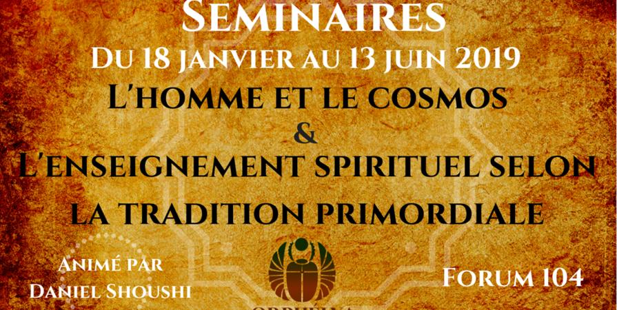 L'Homme et le Cosmos & l'enseignement spirituel selon la tradition primordiale - Orphélya