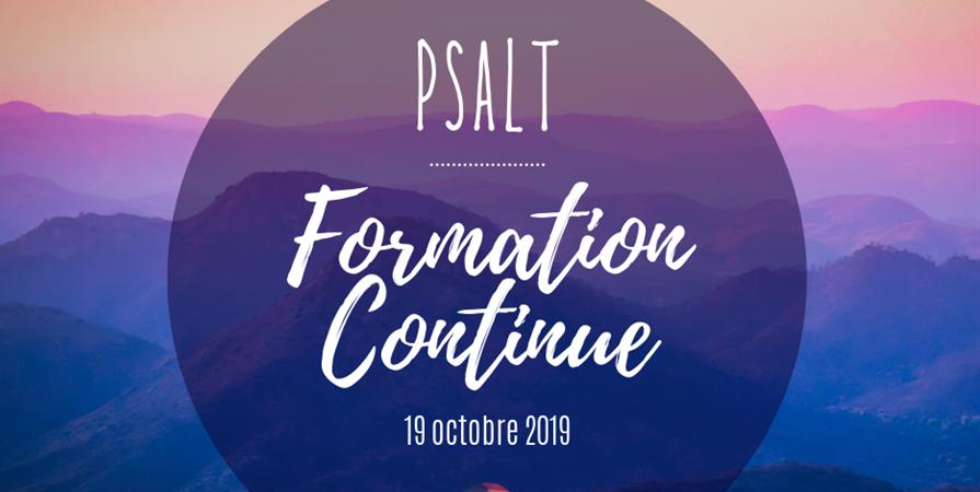 Formation Continue PSALT  - PSALT