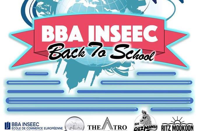 Back to school - BDE RAZ'MANIA