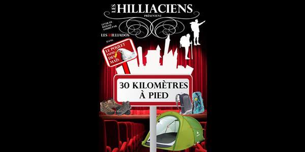 Théâtre - 30 km à pied - Association Animation Argentré
