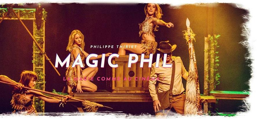 Spectacle de magie pour la fête des pères avec Magic Phil - Les Sens et L'Essence du Lieu
