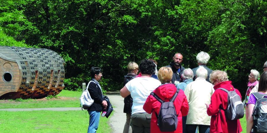 Visite guidée de la Forêt du Bourgailh - 20 mai 2018 - Association Ecosite du Bourgailh