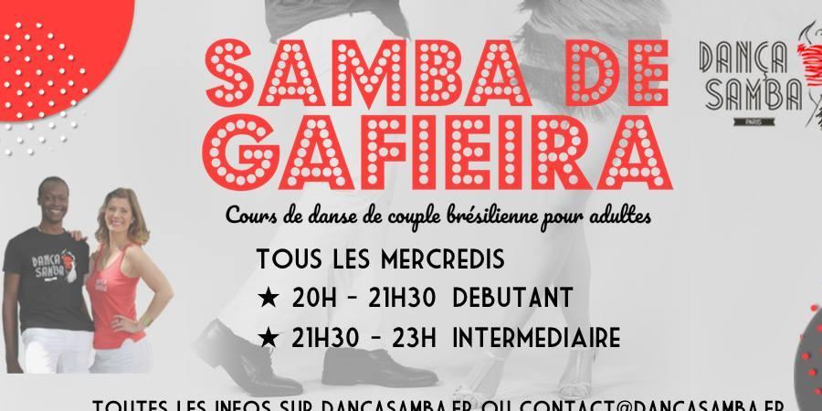 Cours de Samba de Gafieira avec DançaSamba - DançaSamba