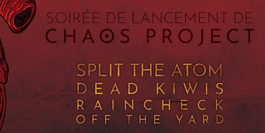 Soirée de lancement Chaos Project - Chaos project