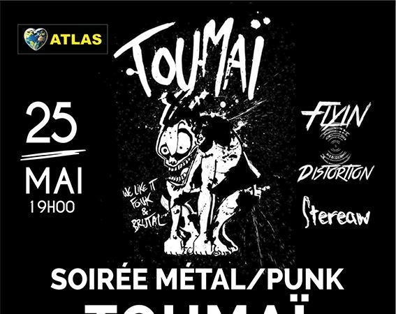 Soirée Métal / Punk - Activités Tous Loisirs ASsociation    sigle ATLAS
