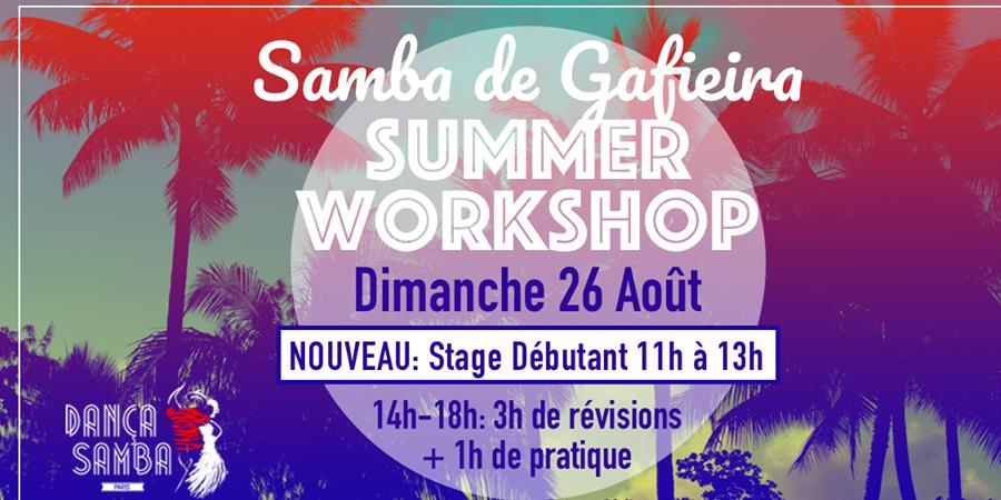 Samba de Gafieira SUMMER CAMP - DançaSamba